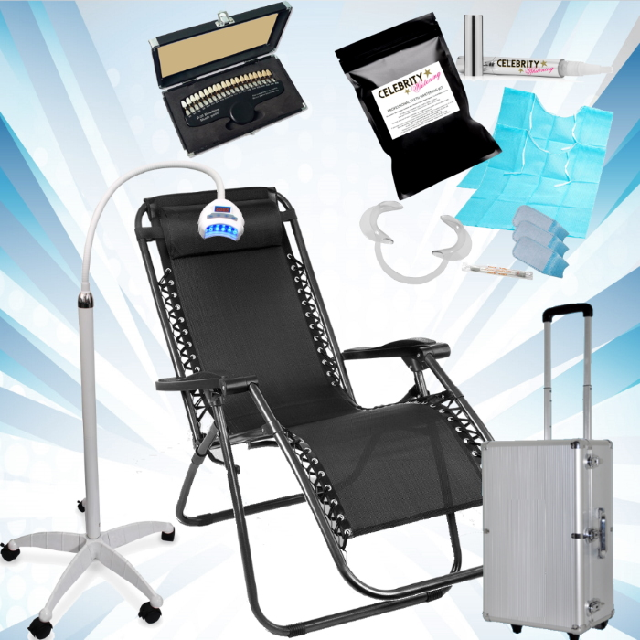 Force 6000 Mobile Teeth Whitening Kit + Chair - 12 Treatments