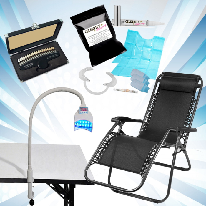 Grip 1000 Mobile Teeth Whitening Equipment - 12 Treatments