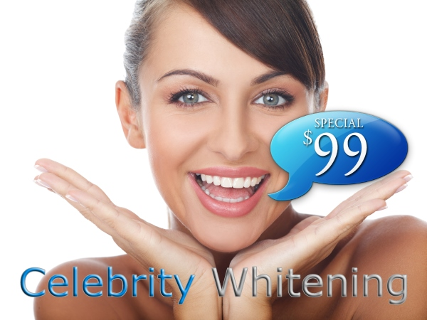 Celebrity sexy smile tooth whitener