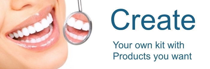 Teeth Whitening Gel kits Create your Own