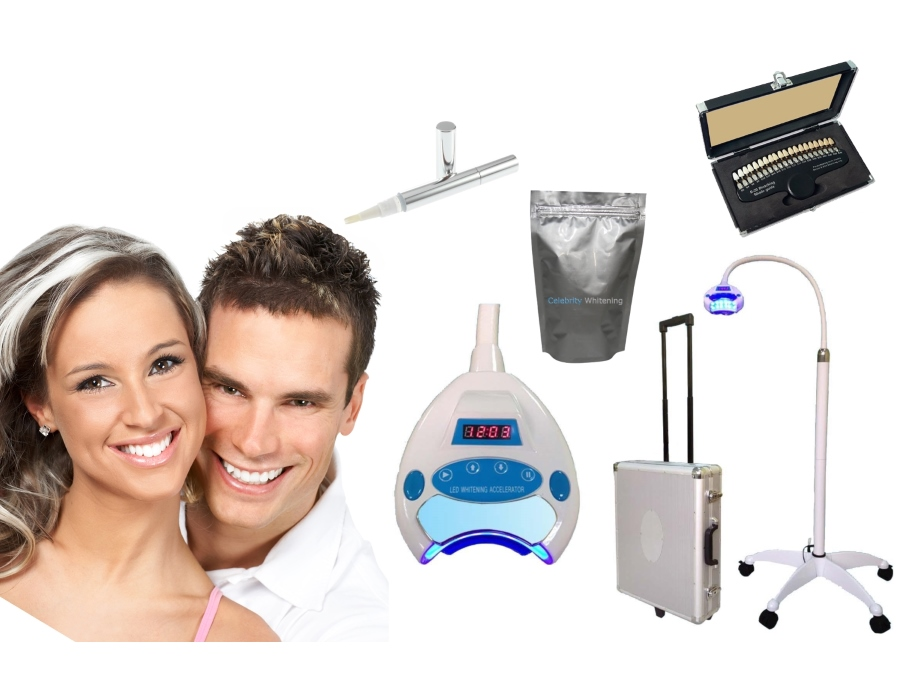 Force 6000 Mobile Teeth Whitening Kit - 12 Treatments