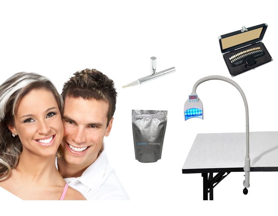 Grip 1000 Salon Teeth Whitening Equipment - 12 Treatments