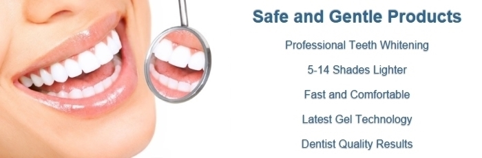 Teeth Whitening Professional Gel Kits